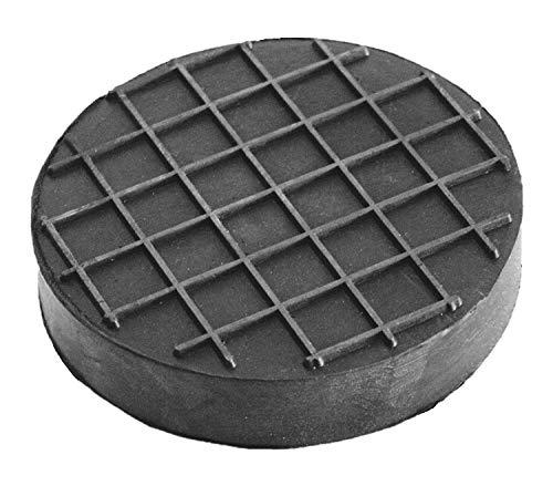 80x20mm Gummiauflage Waffeloberfläche Gummi-Unterlage Auflage Wagen-Heber Hebebühne rund Auto Klotz Rangier-Wagenheber Puffer Reifen Reifenwechsel LKW Räder KFZ Tuning Zubehör
