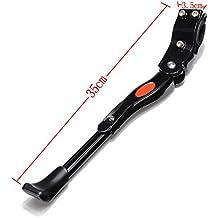 Dcolor Ajustable Kit de soporte del retroceso de la bici pata de cabra lateral MTB Carretera Montana Ciclismo de bicicletas - Negro