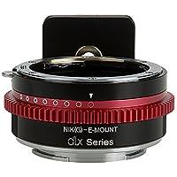 Fotodiox NIK(G)-NEX-DLX Adaptateur de monture d'objectif DLX pour Appareil Nikon G/Sony E Noir
