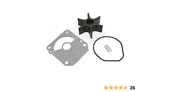 Full Power Plus Remplacement du kit de r/éparation de pompe /à eau pour Honda 06192-ZY3-000 Sierra 18-3285