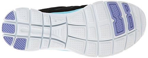 Skechers Flex AppealAdaptable Damen Sneakers Negro (BKTQ)