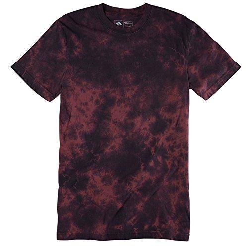 Herren T-Shirt Emerica Coma Wash T-Shirt Burgundy