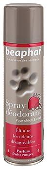 Beaphar - Spray déodorant désodorisant au parfum fruits rouges - chien et chat - 250 ml