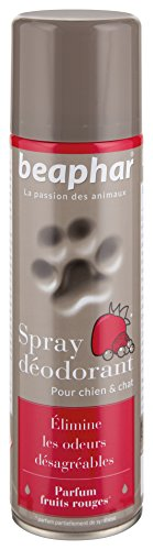 Artikelbild: Beaphar–Spray Deodorant Duft Rote Früchte–Hund und chat- 250ml