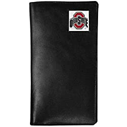 NCAA Ohio State Buckeyes Tall Leather Wallet