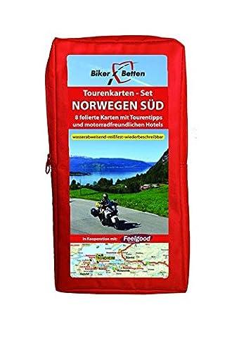 Tourenkarten Set Norwegen Süd (FolyMaps): 1:600 000