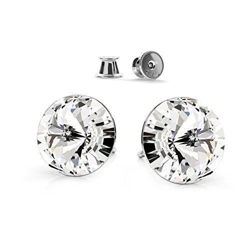crystals-stones-argento-925-bastoni-rivoli-8-mm-crystal-orecchini-donna-originale-cristallo-swarovsk
