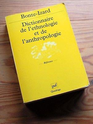Dictionnaire de l'ethnologie et de l'anthropologie