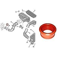 LasVogos Air Seal Pipe para Peugeot (Rojo)