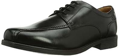 Clarks Beeston Stride, Herren Brogue Schnürhalbschuhe, Schwarz (Black Leather), 42 EU (8 Herren UK)