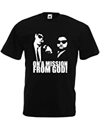 Blues Brothers Herren T-Shirt Mission from God