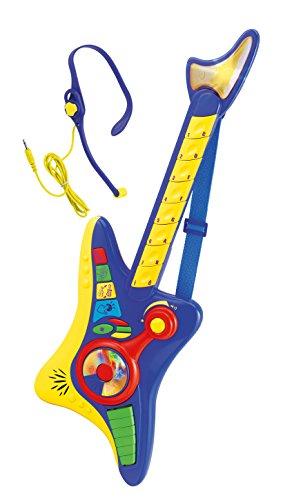 Winfun Rockgitarre BLAU elektrische Kinder E - Gitarre mit Headset uvm