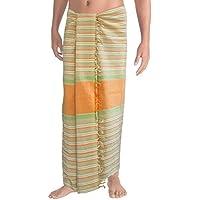 usura della spiaggia mens sarong pareo avvolgente bagno spiaggia vestito telo di nuoto occultamenti