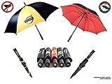 #5: Umbrella [Made in Germany]   Genuine Car Premium Quality Large Fiberglass GOLF Automatic Travel Umbrellas VOLVO (Golf - Straight)