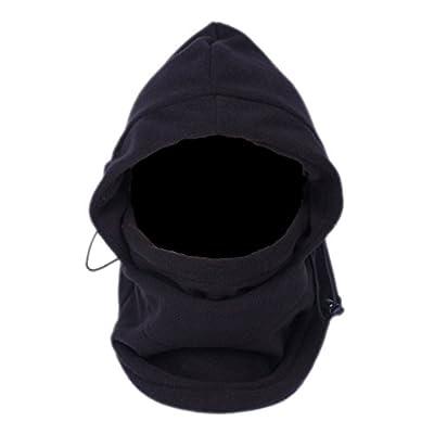 Toogoo Maske Sturmhaube Multifunktions-Mütze Schwarz Balaclava aus Polyester für die kalte Zeit - Ski Outdoor Motorrad Berg Camping Wandern. von Eozy - Outdoor Shop