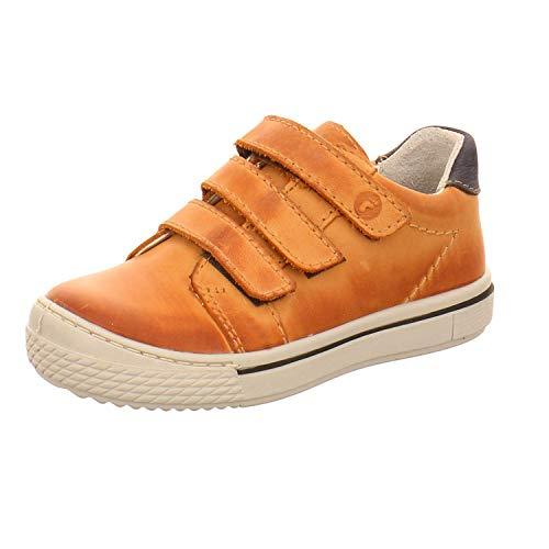 RICOSTA Jungen Sneaker JOKO 5620700, Kinder High-Top Sneaker,Sportschuh,Schnürschuh,Sneaker-Stiefel,mid Cut,Cognac,25 EU -