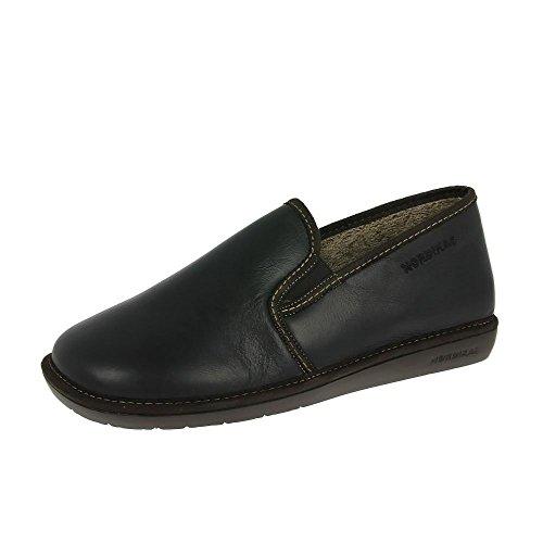 Nordikas Mens Pantofole Noble 663/g Negro EU43 Black