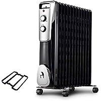 L@LILI Temperatura Ajustable y Estado-del-Arte Interruptor de Seguridad radiador Aceite