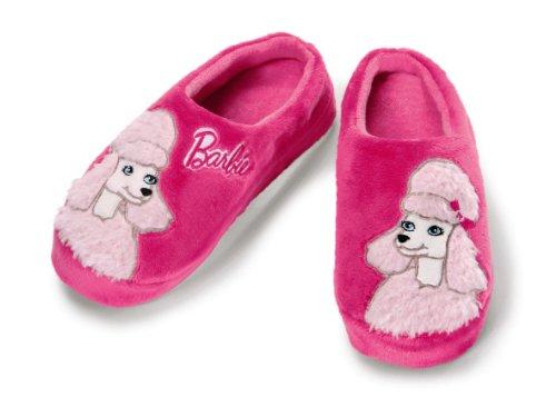 Nici 34367 - Hausschuhe Barbie Pudel Sequin Plüsch, S Violett