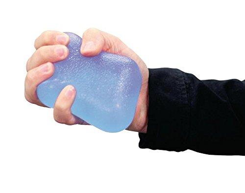 Handmuskeltrainer Jelly Grip Flexibel Blau, Trainingshilfen zur Handtherapie eignen sich gut (973977015610) Jelly-thermometer