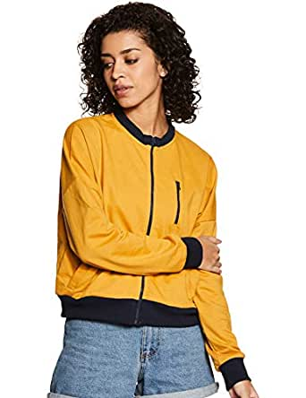 Amazon Brand - Symbol Women's Cotton Sweatshirt (AW18WNSSW19_Camel_X-Small)