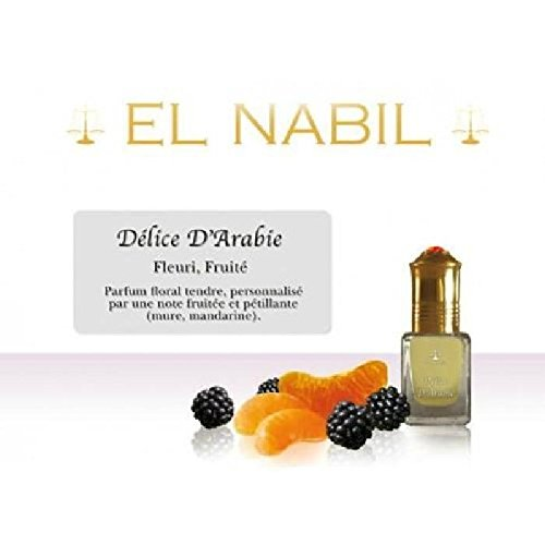 EL NABIL - MUSC DELICE D'ARABIE 5ml - LOT DE 6