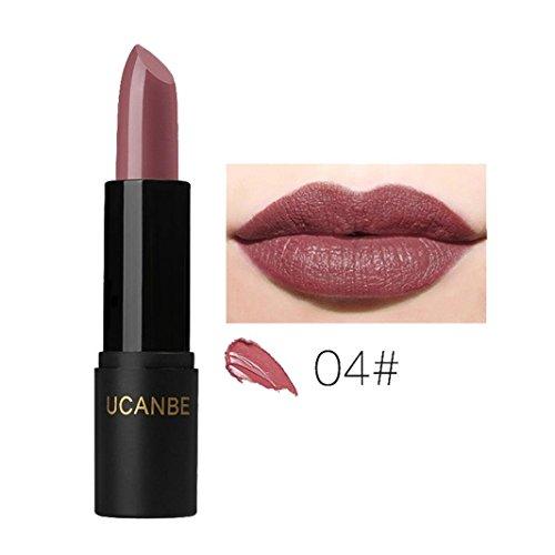 Ladybeauty Frauen-Make-uplippenstift-Schönheit langlebiger Wasserdichter Lippenstift-Lipgloss (Cappuccino-lippenstift)