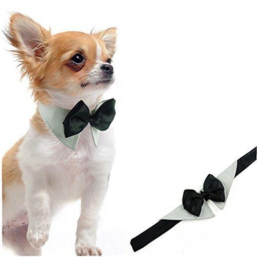 L-Peach Haustiere Fliege Schleife Kostüm Verstellbare Hunde Krawatte -