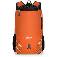 9292d5e7feb G4Free Foldable Drawstring Backpack Gym Sports Bag Lightweight Gymsack  Racksack Swiming Bag for Men Women Adults