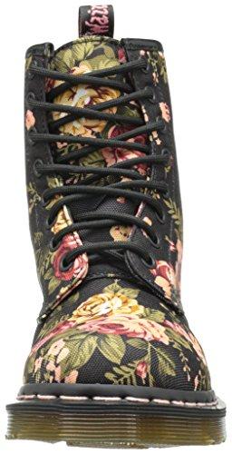 Dr. Martens 1460 Flowers - Stivali unisex - adulto Nero (Black Victorian Floral)