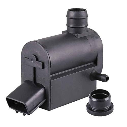 Rekkles 12V 3 Pins Scheibenwaschpumpe 85.330-12.280 mit einem eingegossenes Kabel für ToyotaScion Automobil-Auto