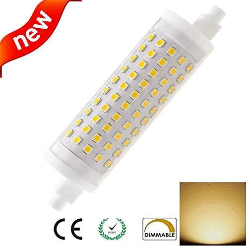 LED R7S 118mm Lampe 15W nicht dimmbar, J118 Lineare Reflektorlampe Leuchtmittel Warmweiß 3000K, entspricht 80W 100W 125W R7S Halogenlampe Dimmbare, AC220V -