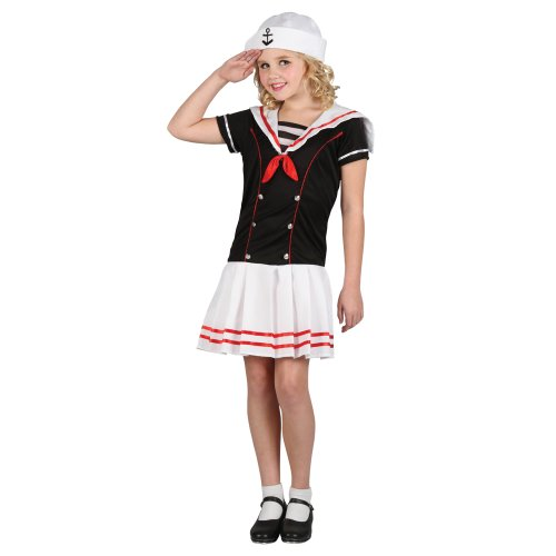 vy Cute Shipmate Fancy Dress Halloween Party Outfit Costume ()