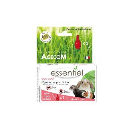 Eco Spot N°7 - Pipette antiparasitaire - Lapins et Furets