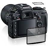 Maxsimafoto - Protezione vetro LCD professionale per Nikon D7500 (Include schermo superiore)
