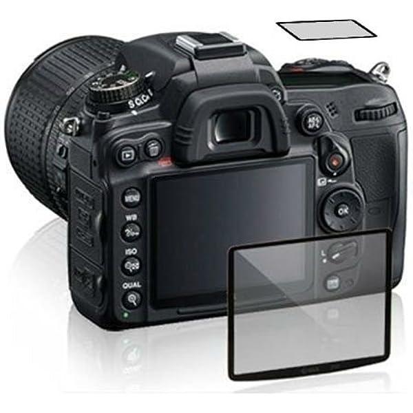 6x protezione schermo per Nikon D80 pellicola di plastica INVISIBLE SHIELD PROTEZIONE TRASPARENTE