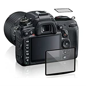 Maxsimafoto - LCD Glass Screen Protector for Nikon D500 - High Transparency, Anti-scrape, anti-bump.