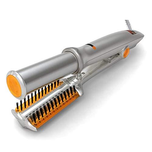 CJB18 Haarcurler Keramik mit Temperaturregelung 2 in 1 Haar-Straightener und Curling Tweezers für Bürsten für trockene und nasse Haardrehung