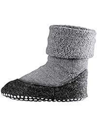 FALKE Kinder Socken Cosyshoe - 90% Schurwolle, 1 Paar, versch. Farben, Größe 23-38 - Wärmender Stopppersocken mit Silikondruck und innenliegendem Plüsch