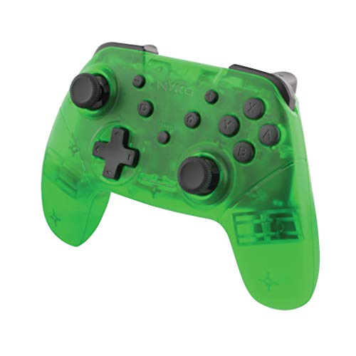 Nyko Wireless Core Controller - Bluetooth Pro Controller Alternative with Turbo and Android/PC Compatibility for Nintendo Switch - Green [ ]