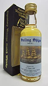 Balvenie - Sailing Ships Series No. 1 Miniature - 1974 15 year old Whisky from Balvenie