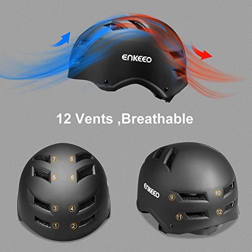 Zoom IMG-2 enkeeo casco da bici per