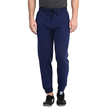 American Crew Navy Blue Fleece Jogger Pants - XL (ACTP211-XL)