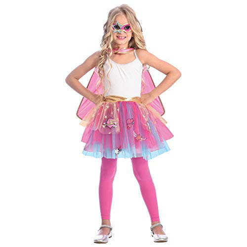 amscan 9904125 Kostüm Girls rose