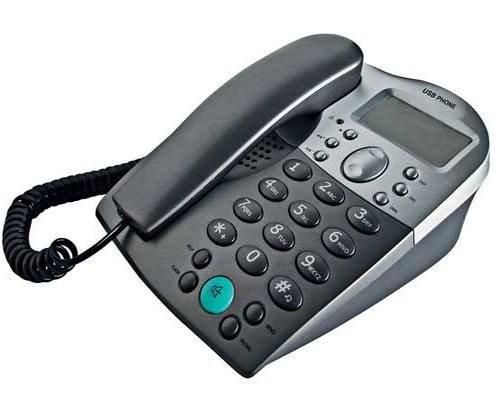 voip-telefon-stx-5041-fur-skype-schnurgebundenes-voip-telefon-beleuchtetes-display-schwarz-grau