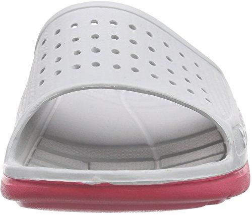 hummel Sport Sandal, Chaussures de Plage et Piscine Mixte Adulte gris (Vapor Blue 1079)