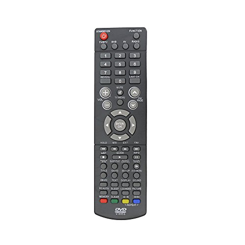 Bush BTVD31217S2 LCD TV / Dvd Remote Control