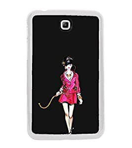 Ramp Walk 2D Hard Polycarbonate Designer Back Case Cover for Samsung Galaxy Tab 3 8.0 Wi-Fi T311/T315, Samsung Galaxy Tab 3 8.0 3G, Samsung Galaxy Tab 3 8.0 LTE