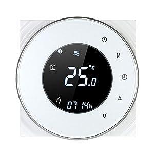 Decdeal Termostato Wi-Fi per Caldaia a Gas,Termostato Digitale,Programmabile Display LCD Touchscreen con… 41GW1%2BXx WL. SS300