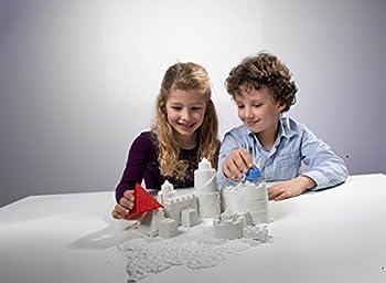 Goliath 83219 - Super-sand-set Castle, Modellierbarer Magischer Sand Bringt Burgen Ins Kinderzimmer, Handliche Sandkasten-box, Bunte Burg-förmchen, Ab 4 Jahren 15